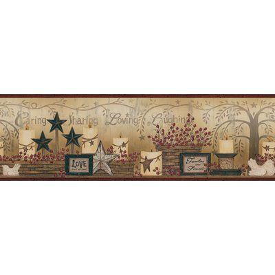 August Grove Glynne Caring Candles 15 X 6 Wallpaper Border Wallpaper Border Wallpaper Trellis Wallpaper