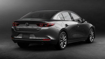 New 2020 Mazda 3 Sedan Rear Angle Mazda 3 Sedan Sedan Mazda 3