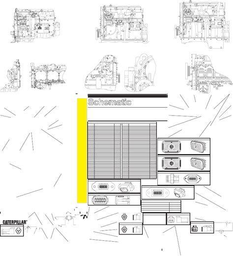 Diagrama Electrico Caterpillar 3406E C10 & C12 & C15 & C16