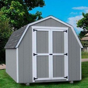Little Cottage 10 X 8 Ft Value Gambrel Barn Precut Storage Shed 4 Ft Barn 10x8shedplans Shed Storage Building A Shed Gambrel Barn