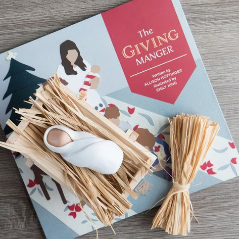 The Giving Manger is a tradition creating cherished Christmas memories through giving. A perfect Christmas gift for families with kids of all ages. Each time a family member does a kind deed a piece of straw is laid in the manger. Create the softest bed for baby Jesus when he arrives on Christmas morning!