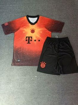 2018 19 Cheap Youth Kit Bayern Munich EA Red Replica Soccer