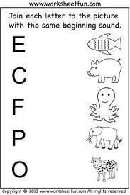 Preschool Worksheets Pdf