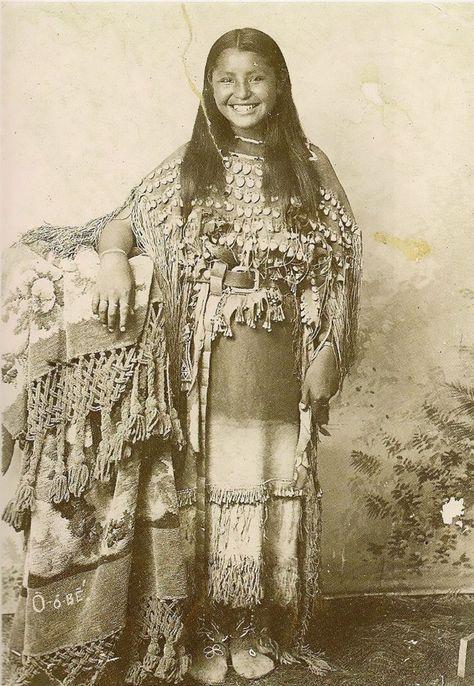 O-o-be, The Kiowas, 1894