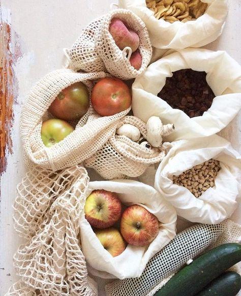 Stoffbeutel statt Plastiktüte! So einfach geht nachhaltiges Einkaufen.  #sustainable #shopping #zerowaste