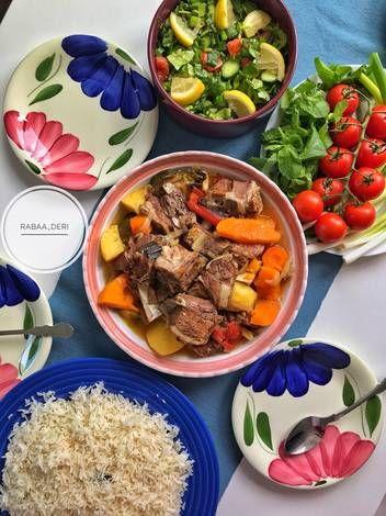 طاجن لحم ضاني بالصور من Rabaaderi Recipe Food Meat Beef