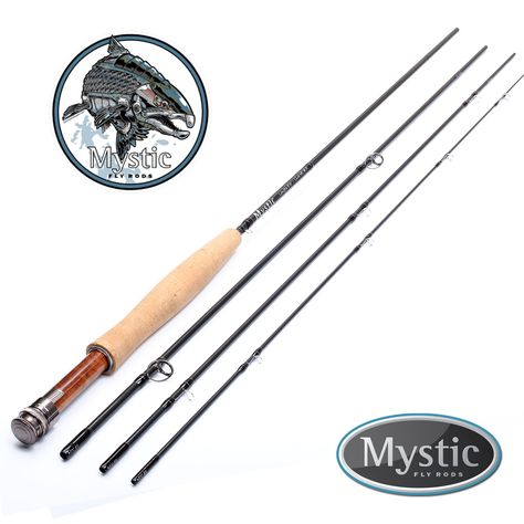 Mystic Fly Rods M Series Fly Fishing Rod 10 3 4 Weight 4 Piece With Case Fly Fishing Rods Fishing Rod Fly Fishing