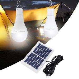 Solar Power Light Lamp 5 Mode 20 25 Cob Led Usb Rechargeable Energy Bulb Camping Solar Powered Lights Camping Lights Solar Lamp