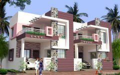 Ultra Modern House Plans India With Greenhouse Balcony Plants And Exterior House Design Brick House Exterior Makeover Luxury House Designs Brick Exterior House