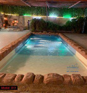اسعار مسابح فيبر جلاس ارخص سعر مسبح للبيع في جدة الرياض الدمام مكة المكرمة Swimming Pools Pool Outdoor Decor