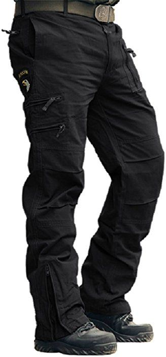 Men/'s Black Vintage M-65 Military-Style Fatigue Field Cargo Pants Rothco 2644