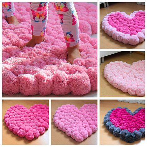 Pink heart is just perfect as a girl room rug. Small one - baby, middle - real princess,a nd a bigger one - teenager. Why? Read following... Do you live in a house with a real Princess? A Princess who loves pink color? Pink clothes, pink decorations... This pink heart shaped rug will be for her a dream coming true! Put it in the center of the room - it will play the main role in this place. Put it near the bed - it will be the best experience for her feet when she wakes up. Its fluffy, soft...