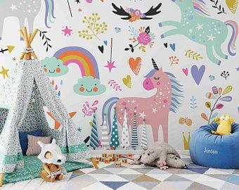 Removable Wallpaper Etsy Au Kids Wall Decals Kid Room Decor Nursery Wall Stickers