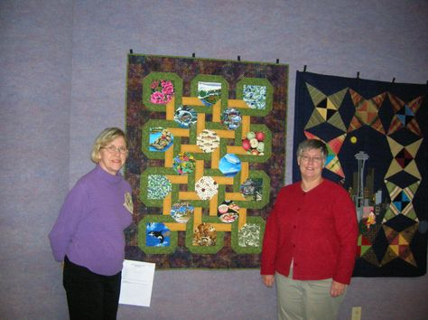 Rosie and I made this quilt for Ronald McDonald House.