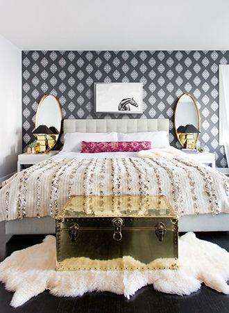 Bedroom Wallpaper Ideas 2019 Luxe Bedroom Eclectic Bedroom Feminine Bedroom