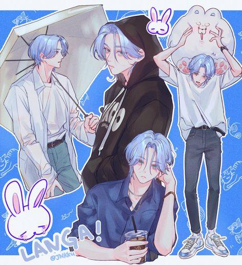 Comic Anime, Chica Anime Manga, Anime Guys, Anime Art, Fanarts Anime, Anime Characters, Manhwa, Anime Lindo, Cute Anime Pics