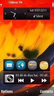 Download free Kissing On Sea S60v5 Theme Mobile Theme Nokia