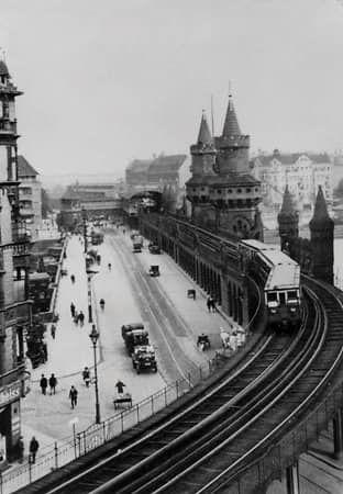 Die Oberbaumbrucke 1908 Historische Bilder Berlin Geschichte Bilder