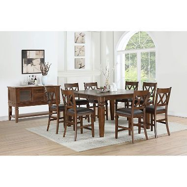 Member S Mark Aldridge 9 Piece Dining Set Dining Set Counter Height Dining Sets Dining
