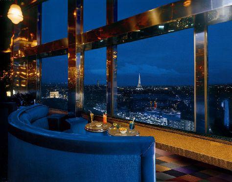 [Bar] La Vue, Hôtel Concorde-Lafayette, Paris.