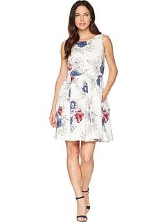 Fabulous Fit And Flare Dress With Pockets In Navy In 2020 Fit And Flare Dress Flare Dress Vintage Dresses