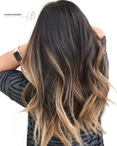 426 Likes, 38 Comments - Utah Balayage Hair Painting (Audrey Inskeep) on Instagr. 426 Likes, 38 Comments - Utah Balayage Hair Painting (Audrey Inskeep) on Cabelo Ombre Hair, Balayage Hair Brunette Long, Hair Color Balayage, Balayage Hairstyle, Ombre Highlights, Ombre Hair Color For Brunettes, Dark Brown To Blonde Balayage, Fall Balayage, Balyage Hair