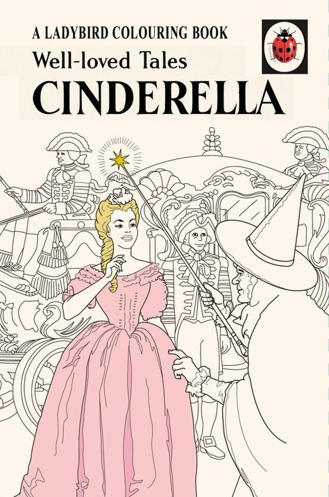 Well Loved Tales Cinderella A Ladybird Vintage Colouring Book