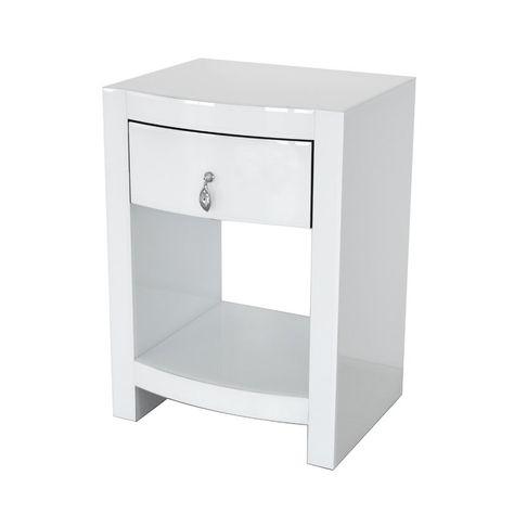 Kamena Curved Nightstand Furniture Drawer Nightstand Nightstand