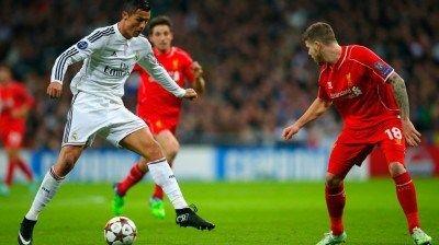 Real Madrid Vs Liverpool Full Match Uefa Champions League 2014 15 Real Madrid Vs Liverpool Liverpool Live Alberto Moreno