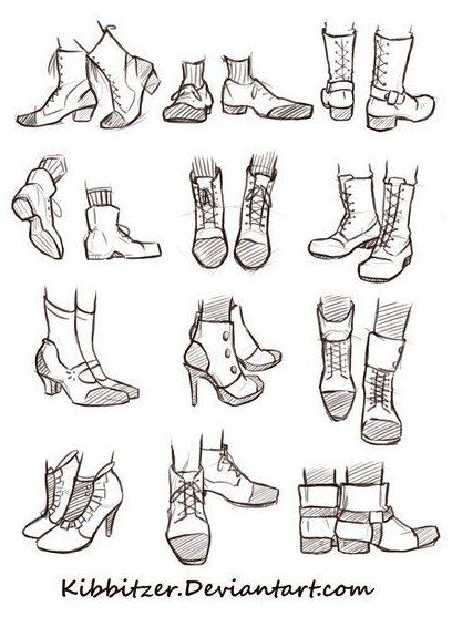 Shoes Reference Sheet By Kibbitzer On Deviantart Vintage Shoes Drawing Shoes Reference Sheet By Kibbitzer Deviantart In 2020 Sketch Book Drawing Reference Sketches