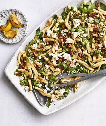 Edamame Pasta Salad Recipe With Images Edamame Pasta