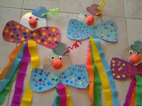 30 Ideen Zum Basteln Mit Kindern Zu Fasching Karneval Deko