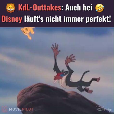 Auch bei Disney-Dreharbeiten läuft nicht immer alles perfekt! :D  Der König der Löwen (OT: The Lion King)