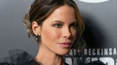 Kate Beckinsale Posts Only Underwear Makeup Photo With a