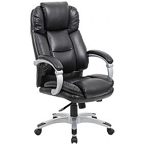 Aston Synchronous Bonded Leather Manager Chair Projetos De