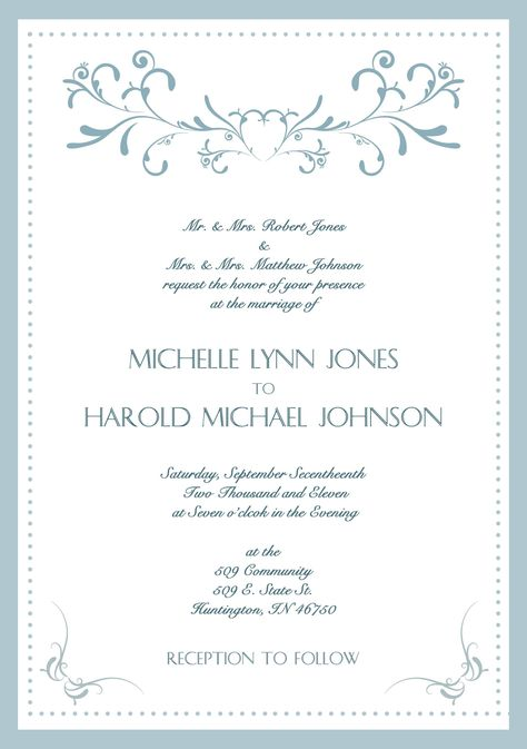Samples Of Wedding Invitations Cards Wedding Invitations Cards