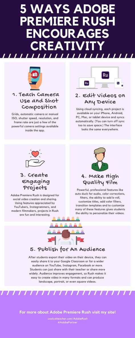 5 Ways Adobe Premiere Rush Encourages Creativity