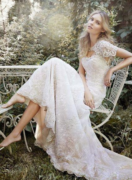 Vestidos de novia estilo gatsby