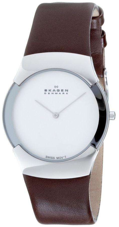 8aa3775d6e34 Skagen Swiss Slimline 582XLSL - Reloj de caballero de cuarzo