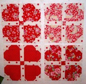 Heart quilt tutorial
