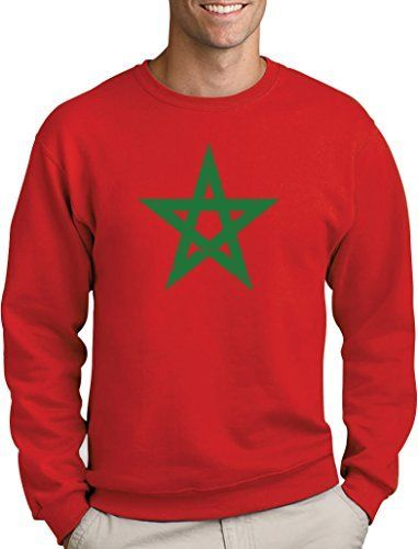 Green Turtle T Shirts Drapeau Du Maroc Sweatshirt Homme Fierte Du
