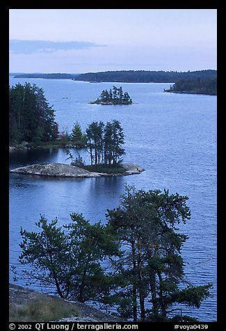 Anderson Bay Voyageurs National Park Minnesota Photo By Qt