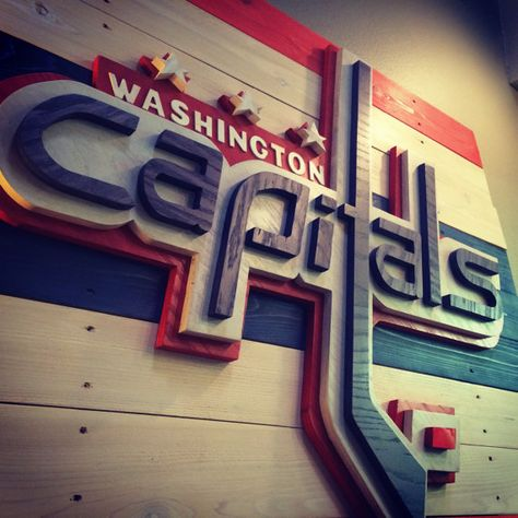 Go to dinner in DC , then to a caps game and then stay overnight in