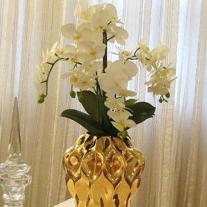 11 Arranjo De Orquideas Decoracao Com Flores Artificiais