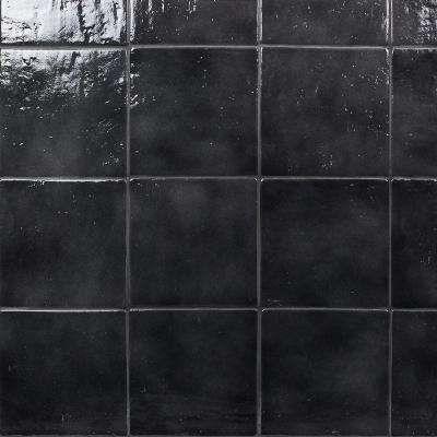 Appaloosa Black 7 In X 7 In 10mm Polished Porcelain Floor And Wall Tile 30 Piece 10 43 Sq Ft Box Porcelain Flooring Tile Floor Flooring