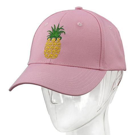 Pineapple Dad Hat Baseball Cap Sun Cap Cotten Snapback Adjustable Outdoor  Sports Cap - Pink - CB186W50NOG - Hats   Caps de815cd53e7b