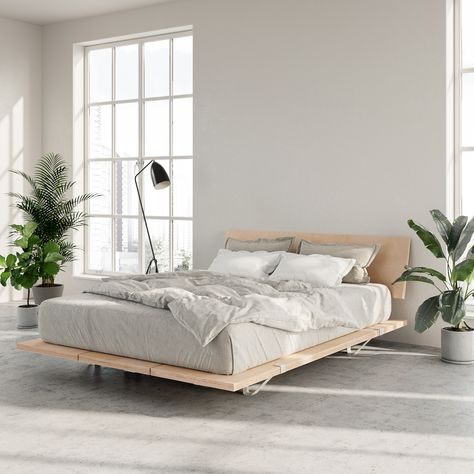 The Floyd Platform Bed in birch offers a modern look that fits with any home. Requires no tools for assembly and ships straight to your door. Home Decor Bedroom, Modern Platform Bed, Home Bedroom, Bedroom Interior, Bedroom Makeover, Bedroom Design, Bed, Home Decor, Apartment Decor