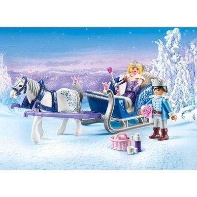 PLAYMOBIL/® Unicorn-Drawn Fairy Carriage and Sun Fairy with Unicorn Foal