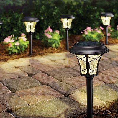 Outdoor Lighting Exterior Light Fixtures At The Home Depot Backyard Lighting Outdoor Lighting Small Backyard Design