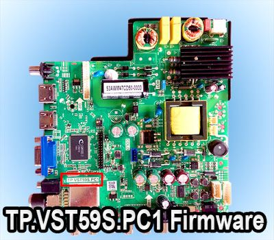 TP VST59S PC1 CPU: TSUMV59XUS-Z1 Board Firmware Download for